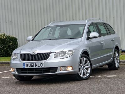 SKODA Superb Estate 2.0 TDI CR DPF SE 5dr