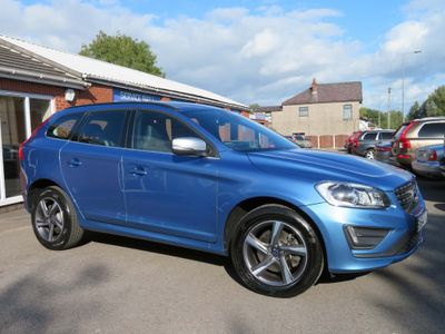 Volvo XC60 SUV 2.0 D4 R-Design Geartronic (s/s) 5dr