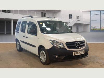 Mercedes-Benz Citan MPV 1.5 109 CDi BlueEFFICIENCY Tourer L2 EU6 (s/s) 5dr (5 Seat)