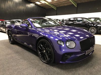 Bentley Continental Convertible 6.0 W12 GTC First Edition Auto 4WD 2dr