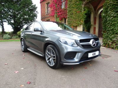 MERCEDES-BENZ GLE CLASS Coupe 3.0 GLE350d V6 AMG Line (Premium Plus) G-Tronic 4MATIC (s/s) 5dr