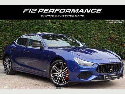 Maserati Ghibli Saloon 2.0 MHEV GranSport ZF (s/s) 4dr