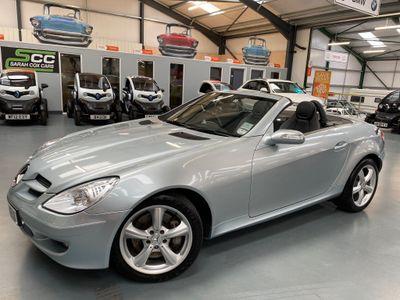 Mercedes-Benz SLK Convertible 3.5 SLK350 2dr