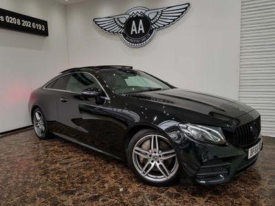 Mercedes-Benz E Class Coupe 2.0 E300 AMG Line (Premium) G-Tronic+ (s/s) 2dr