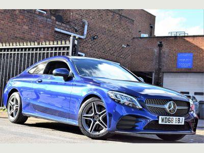 Mercedes-Benz C Class Coupe 2.0 C300 AMG Line G-Tronic+ (s/s) 2dr