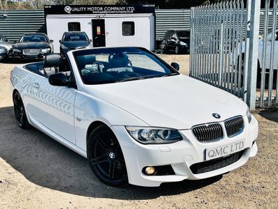 BMW 3 Series Convertible 2.0 320d Sport Plus Edition Auto 2dr