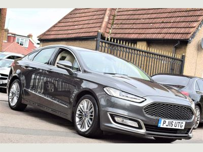 Ford Mondeo Saloon 2.0 TiVCT Vignale CVT 6Spd (s/s) 4dr