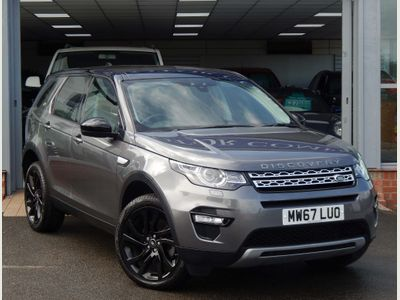Land Rover Discovery Sport SUV 2.0 eD4 HSE (s/s) 5dr