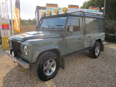 Land Rover Defender 110 SUV 2.4 TDi Hard Top 3dr