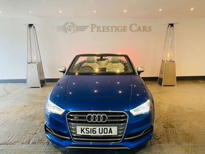 Audi S3 Convertible 2.0 TFSI Cabriolet S Tronic quattro 2dr (Nav)