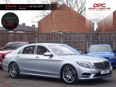 Mercedes-Benz S Class Saloon 4.7 S500 AMG Line L (Executive) 7G-Tronic Plus (s/s) 4dr