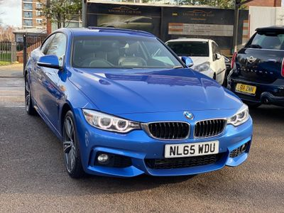 BMW 4 Series Coupe 2.0 420i M Sport Auto xDrive 2dr
