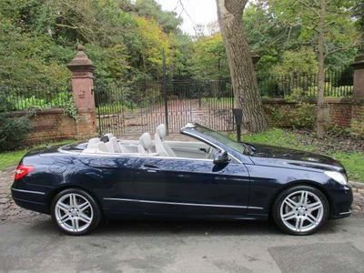 MERCEDES-BENZ E CLASS Convertible 2.1 E250 CDI BlueEFFICIENCY SE Cabriolet G-Tronic 2dr