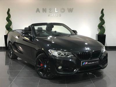 BMW 2 Series Convertible 2.0 220d Sport Auto (s/s) 2dr