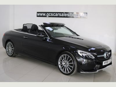 Mercedes-Benz C Class Convertible 2.0 C200 AMG Line Cabriolet G-Tronic+ (s/s) 2dr