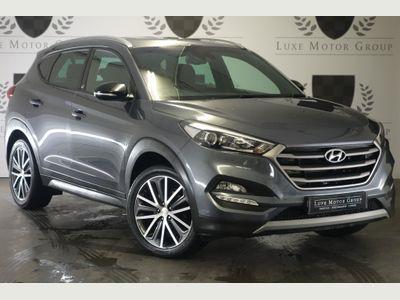 Hyundai TUCSON SUV 1.6 T-GDi GO! SE 5dr