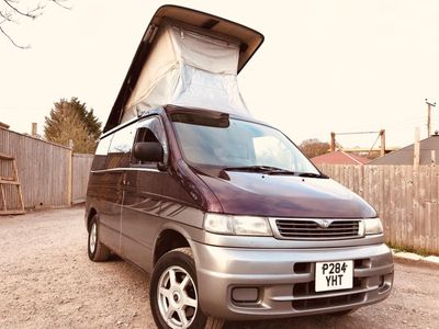 Mazda BONGO AFT 4 BERTH FULL REAR CAMPER CONVERSION Campervan 5 SEATER