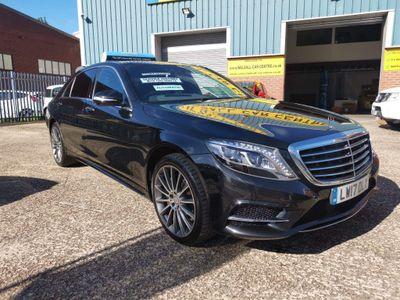 Mercedes-Benz S Class Saloon 3.0 S350L d AMG Line 9G-Tronic Plus (s/s) 4dr