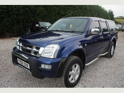 Isuzu Rodeo Pickup 3.0 TD Denver Max LE Crewcab Pickup 4dr