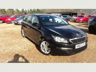 Peugeot 308 SW Estate 1.6 BlueHDi Active Estate 5dr Diesel Manual (s/s) (85 g/km, 120 bhp)