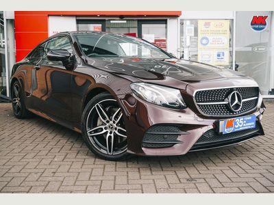 Mercedes-Benz E Class Coupe 2.0 E220d AMG Line (Premium) G-Tronic+ (s/s) 2dr