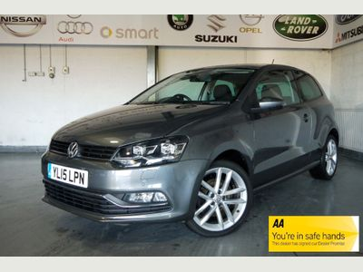 Volkswagen Polo Hatchback 1.0 TSI BlueMotion Tech SEL (s/s) 3dr