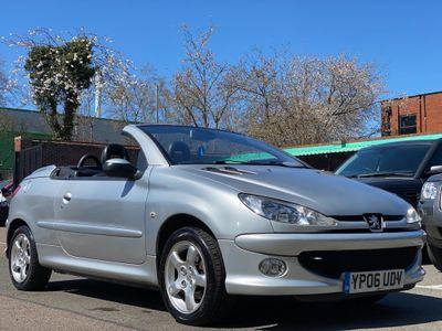 Peugeot 206 CC Convertible 1.6 16v Allure 2dr