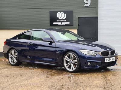 BMW 4 Series Coupe 3.0 430d M Sport Auto 2dr