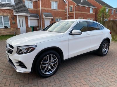 Mercedes-Benz GLC Class Coupe 2.0 GLC250 AMG Line G-Tronic+ 4MATIC (s/s) 5dr