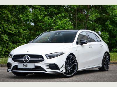 Mercedes-Benz A Class Hatchback 2.0 A35 AMG (Premium Plus) SpdS DCT 4MATIC (s/s) 5dr