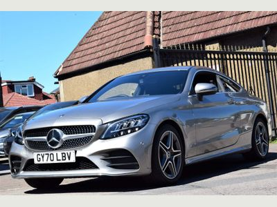 Mercedes-Benz C Class Coupe 1.5 C200 MHEV AMG Line Edition G-Tronic+ (s/s) 2dr