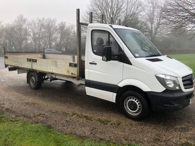 Mercedes-Benz Sprinter Chassis Cab 16ft 6 Aluminium Drop Side Truck