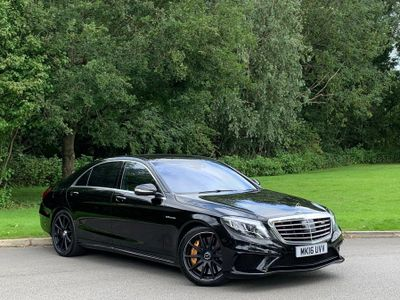 Mercedes-Benz S Class Saloon 5.5 S63L AMG (Executive) LWB Saloon (s/s) 4dr