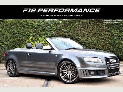 Audi RS4 Cabriolet Convertible 4.2 quattro 2dr