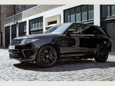 Land Rover Range Rover Sport SUV 5.0 V8 SVR CommandShift 2 4X4 (s/s) 5dr