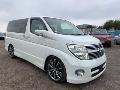 Nissan Elgrand MPV Highway Star BK leather edition