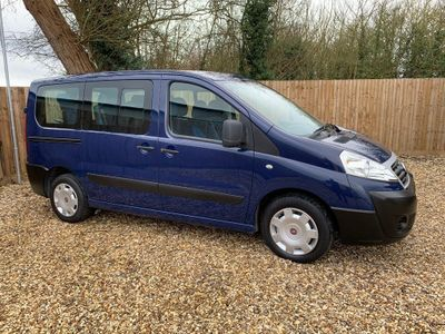 Fiat Scudo Unlisted 2.0 HDi, 7 SEATER - WHEELCHAIR / SCOOTER ACCESS