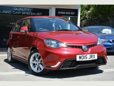MG MG3 Hatchback 1.5 VTi-TECH 3Form Sport 5dr