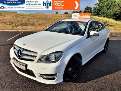 Mercedes-Benz C Class Coupe 2.1 C250 CDI BlueEFFICIENCY AMG Sport 7G-Tronic Plus 2dr (COMAND)