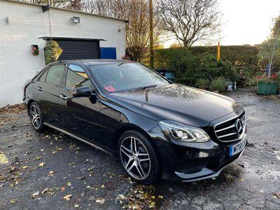 Mercedes-Benz E Class Saloon 2.1 E220 CDI BlueTEC AMG Night Edition (Premium Plus) 7G-Tronic Plus 4dr