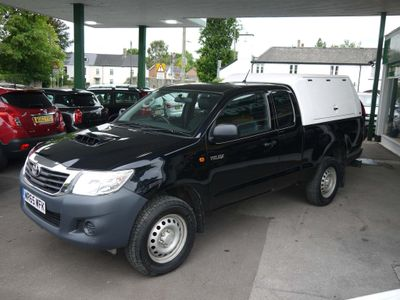 Toyota Hilux Pickup Active Extended Cab 2dr 4X4 D-4D Pickup