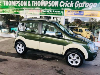 Fiat Panda Hatchback 1.3 MultiJet 16v 4x4 Cross 5dr