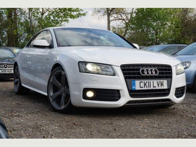 Audi A5 Coupe 2.0 TFSI Black Edition 2dr