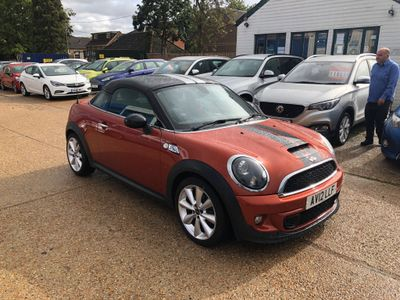 MINI Coupe Coupe 2.0 Cooper SD Auto 2dr