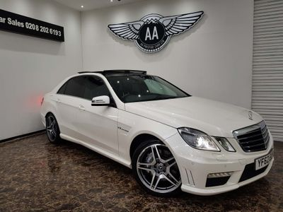 Mercedes-Benz E Class Saloon 5.5 E63 BlueEFFICIENCY AMG MCT 7S (s/s) 4dr