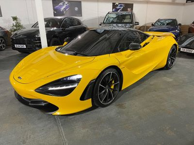 McLaren 720S Coupe 4.0T V8 Performance SSG (s/s) 2dr