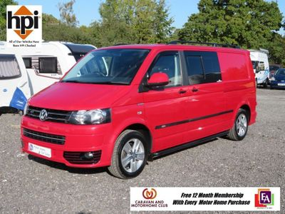 Volkswagen Transporter Van Conversion 2.0 TDI BlueMotion Tech T32 Startline Panel Van 4dr Diesel Manual (LWB) (184 g/km, 113 bhp)