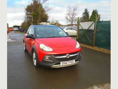 Vauxhall ADAM Hatchback 1.2i ROCKS TECHNICAL 3dr