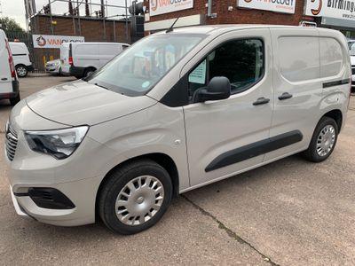Vauxhall Combo Panel Van 1.6TDCi SPORTIVE L1 VAN (HIGH SPEC/EUR6)