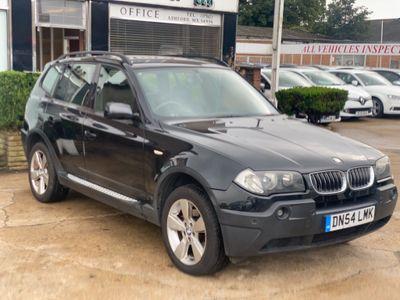 BMW X3 SUV 2.5i Sport Auto 4WD 5dr